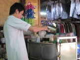 Laos coffee guy